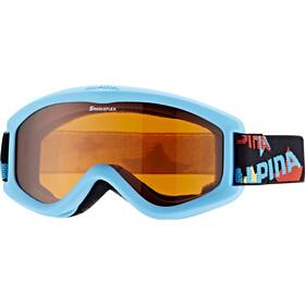 Alpina Carvy 2.0 Beskyttelsesbriller Børn, turkis/farverig